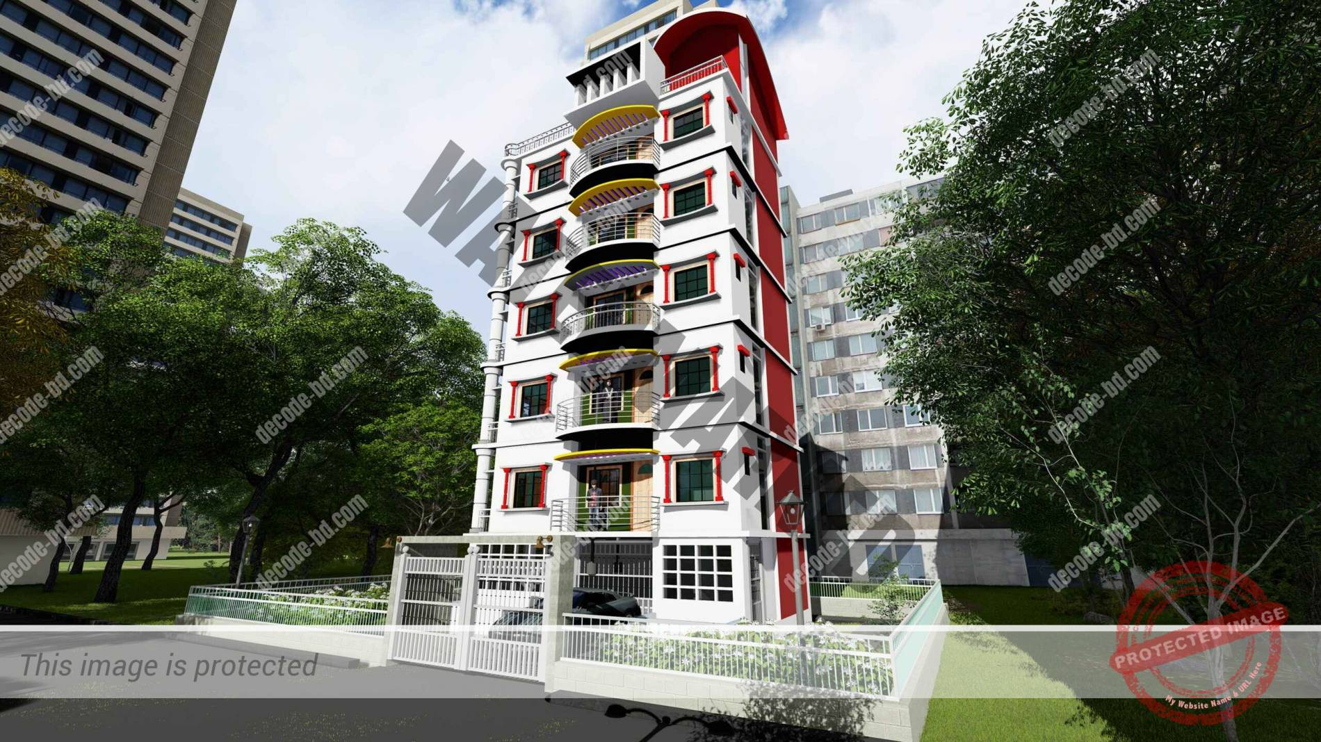 3D Render-1 of Project-1