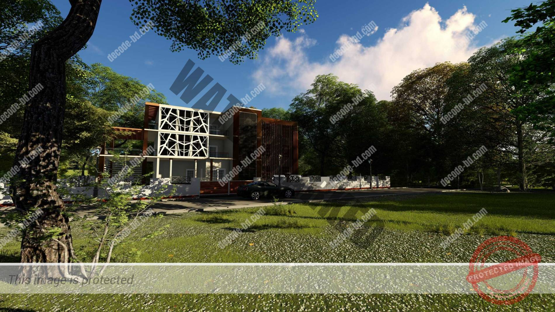 3D Render-1 of Project-2