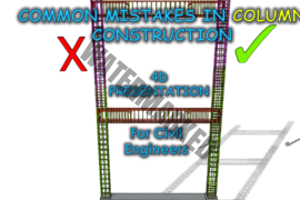 Common Mistakes or Bad Practice in Column Construction